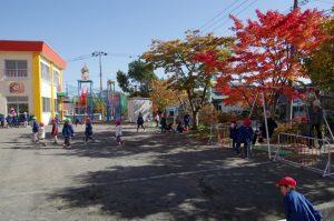 幼稚園のある日