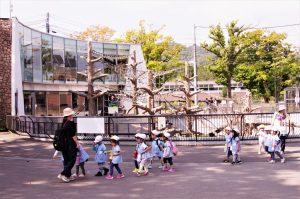 円山動物園バス遠足